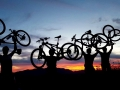 Wed night MTB ride in Santa Monica Mountains CA